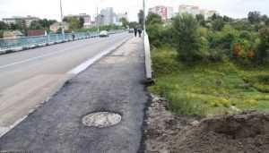 В Брянске продолжают восстанавливать открытый для движения Черметовский мост