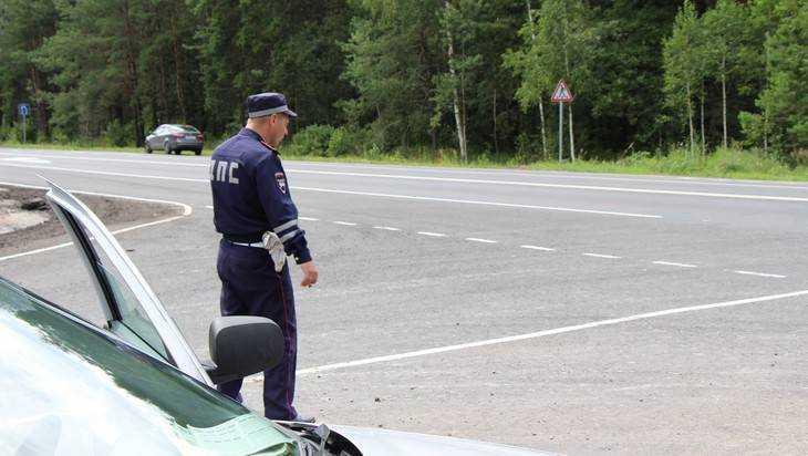 Брянская автомобилистка в жестком таране разбила голову, однако не сдалась