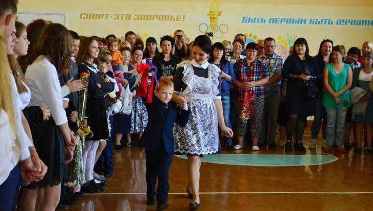 Юрий Гапеенко поздравил карачевских школьников с Днём знаний