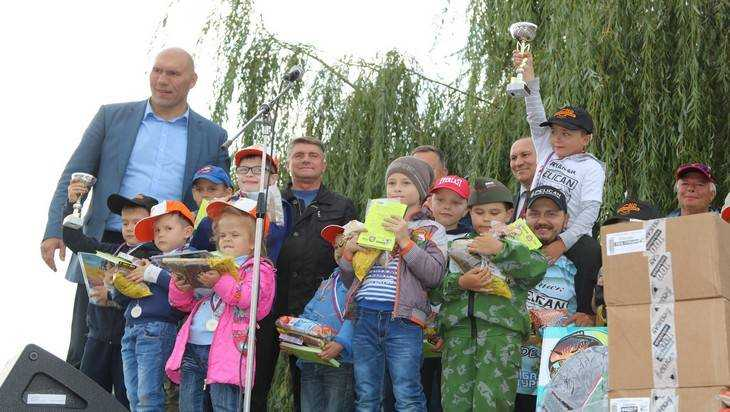В Брянске разыграли Кубок Николая Валуева по рыболовному спорту
