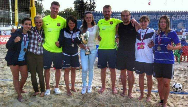 Брянские футболистки выиграли Кубок России по футволею