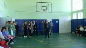 Благодаря проекту «Детский спорт» в Сачковичской школе Брянщины открылся спортивный зал