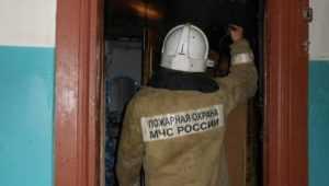 В Брянске во время пожара эвакуировали жильцов девятиэтажки