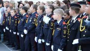 В брянской школе 58 открыли первый городской класс юных казаков