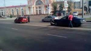 Беременная автомобилистка пострадала в ДТП возле вокзала Брянск –I