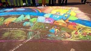 Маленькие брянцы станут участниками конкурса рисунков на асфальте