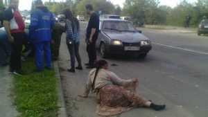 В Брянске легковушка сбила цыганку с ребенком
