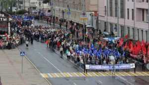 По Брянску в День города прошёл Парад поколений