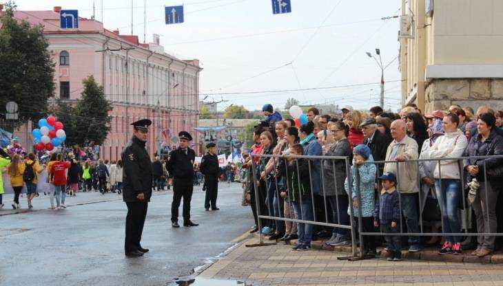В Брянске День города прошёл без серьёзных происшествий