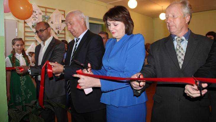 В Понуровской школе Стародубского района открыли новый спортзал