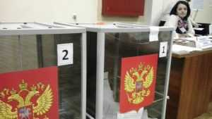 В Брянске прошли шелковые выборы