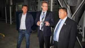 Производство «МЕТАКЛЭЙ» посетил Сергей Калашников