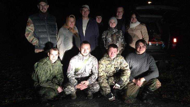 Под Брянском вывели из леса троих заблудившихся ночью грибников