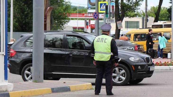С брянских водителей сорвут черные маски