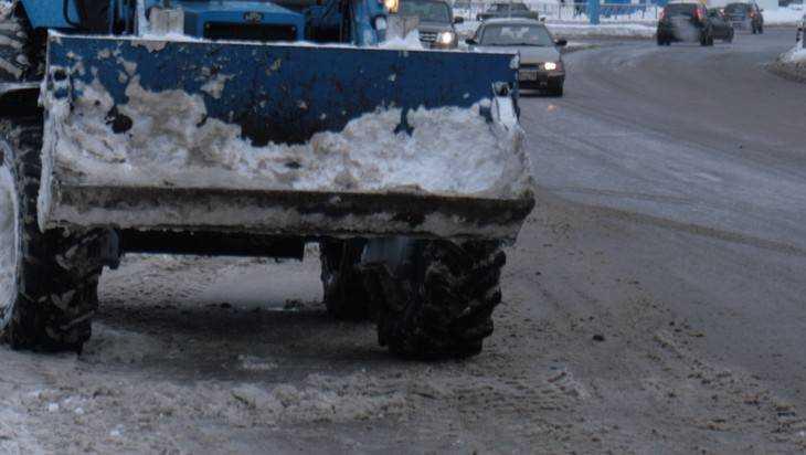 В Брянской области непогода опередила снегоуборочную технику