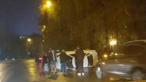 «Полицейский» на улице Дуки в Брянске приструнил водителей