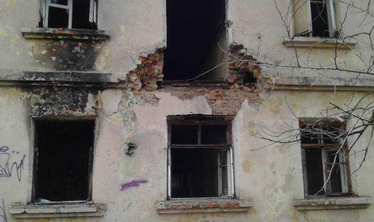 Главная улица Володарского района Брянска стала пугать честную публику