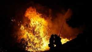 В брянской деревне во время пожара погиб 38-летний мужчина