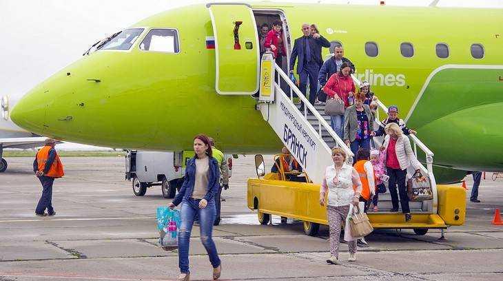 Авиакомпания S7 отменила пятничный рейс из Брянска в Петербург