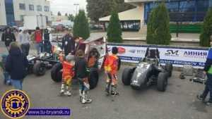 Брянские студенты показали свои багги в Белгороде