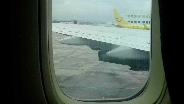 Из-за тумана самолет из Петербурга приземлился в Брянске на час позже