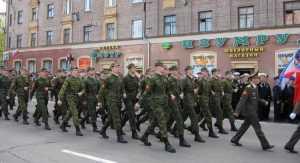 В Брянской области 1 октября начался осенний призыв