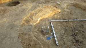 В Брянской области археологи нашли станок и ожерелье, которым 2 тысячи лет