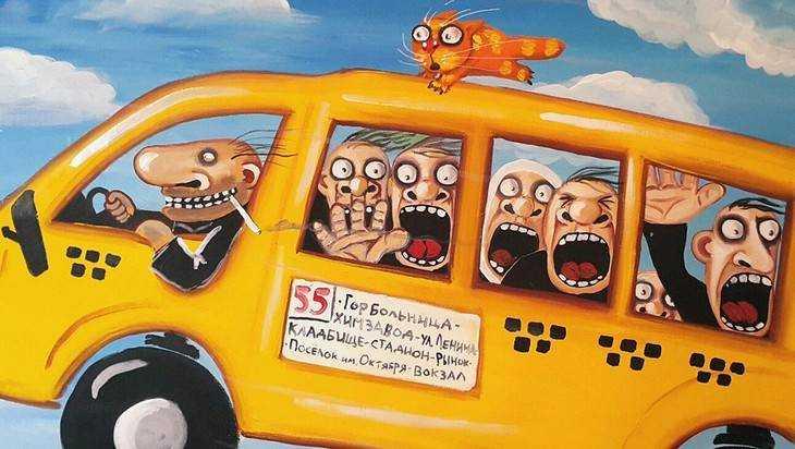 Брянские гаишники за пять дней проверили 1026 автобусов и наказали 335 водителей