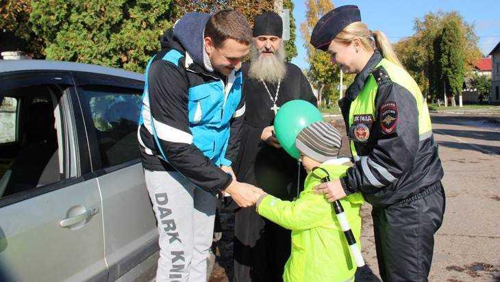 Брянские гаишники вышли со священником на битву с нарушителями