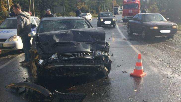 К трагическому ДТП под Брянском привела роковая ошибка автомобилистки
