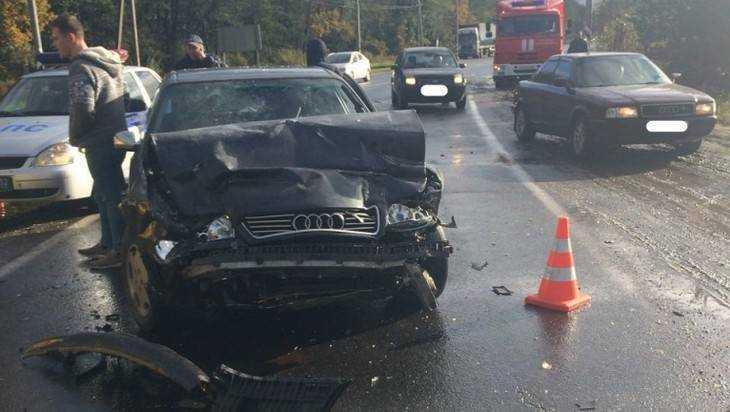 Видео рассказало о трагическом ДТП под Брянском у памятника водителям