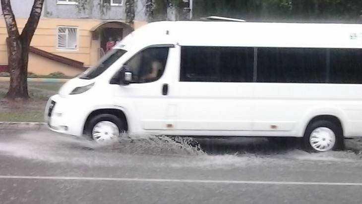 В Брянске упавшая пассажирка маршрутки разбила лицо