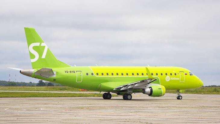 Авиакомпания S7 отменила первый рейс на 2 ноября из Брянска в Москву