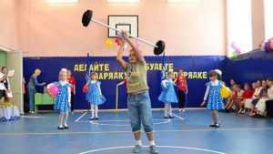 В Слищенской школе Брянской области открылся обновлённый спортзал
