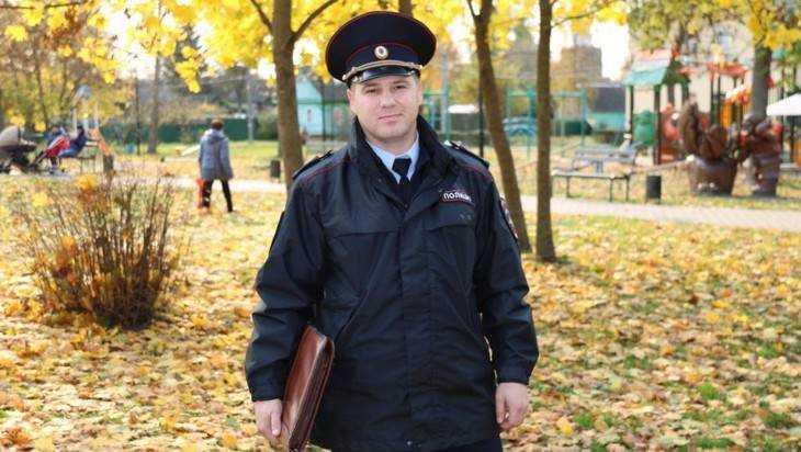 Народным участковым брянцы выбрали капитана Михаила Саса из Карачева