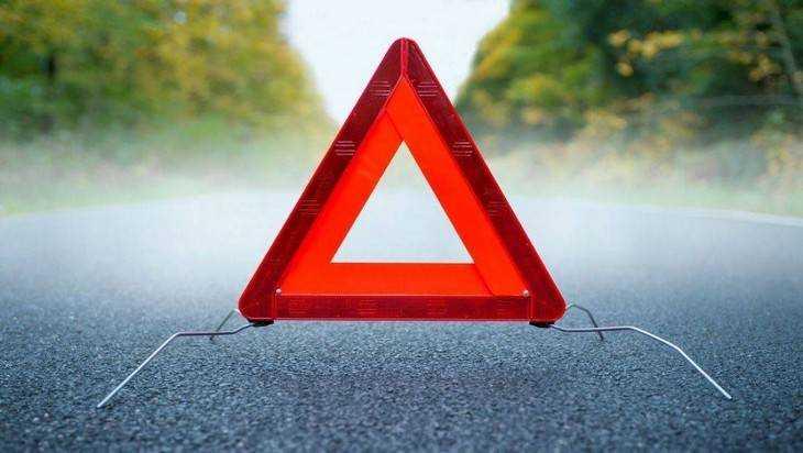 Невнимательный брянский водитель разбил свой автомобиль