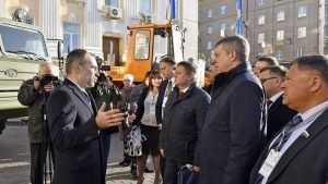 Гостям Славянского форума показали машины брянских заводов