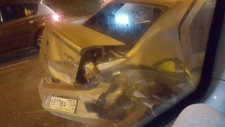 Брянские спасатели рассказали о столкновении на Городище маршрутки и 3 авто