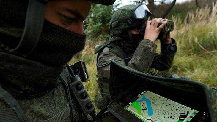 Брянские разведчики получили комплексы «Стрелец»