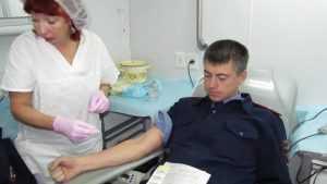 В Брянской области насчитали 6 тысяч почетных доноров