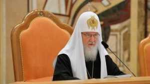 Патриарх Кирилл призвал священников не служить «тленным вещам»
