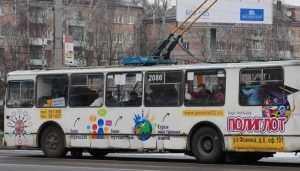 В Брянске у «Аэропарка» разбилась пассажирка троллейбуса