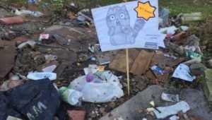 В Брянске прокурору указали на огромную лужу и уличный мрак