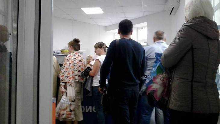 Брянская почта ответила на обвинения по поводу огромных очередей