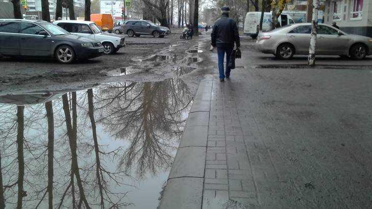 Брянск наполнился грязным очарованием
