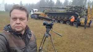 Под Брянском на Партизанской поляне разместили гигантскую пушку «Пион»