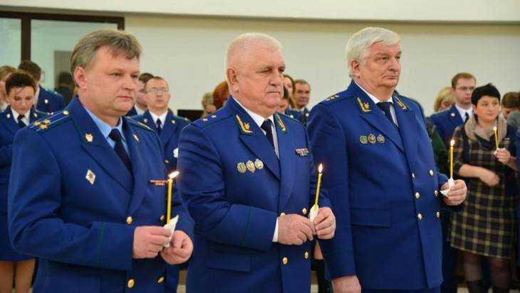 Митрополит Александр освятил новое здание прокуратуры Брянской области