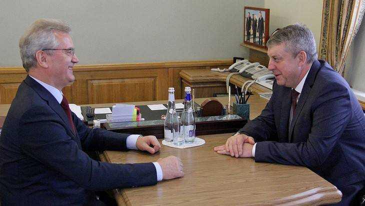Губернаторы Брянской и Пензенской областей договорились о сотрудничестве