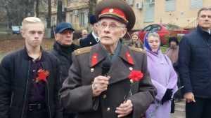 В Брянске отпраздновали 110 лет со дня рождения партизана Емлютина