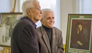 Брянскому художнику Сергею Ткачеву исполнилось 95 лет